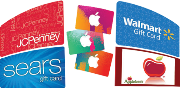 Selling gift cards for cash